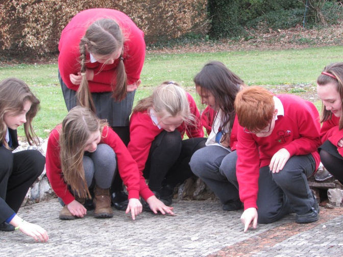 Teacher Training at Rockbourne Roman Villa
