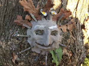 Tree spirit face