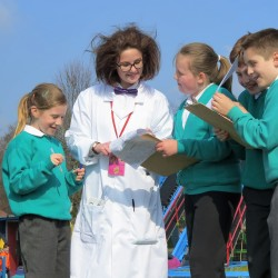 Science learning at Paultons Park