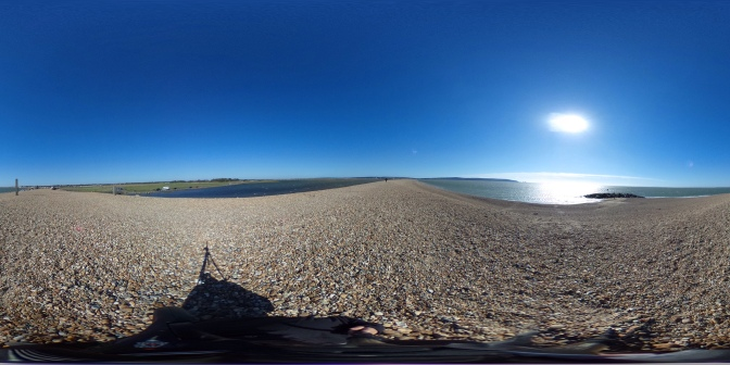 360° of sky and sea